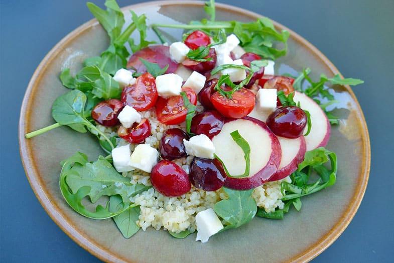 recette-vegetarienne-salade-boulgour-fruits