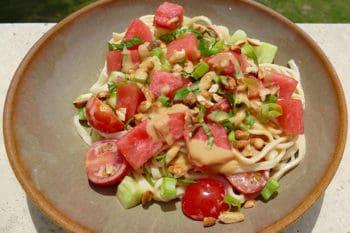 recette-vegetarienne-nouilles-udon-pasteque