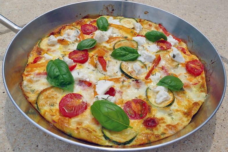 recette-vegetarienne-frittata-ete