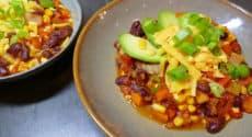 Chili végétarien facile