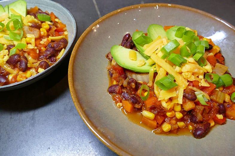 recette-vegetarienne-chili-facile