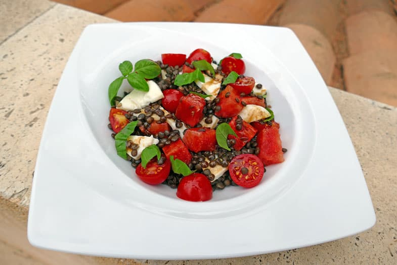 recette-vegetarienne-salade-lentilles-pasteque
